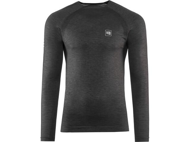 Compressport LS Training T-Shirt, black